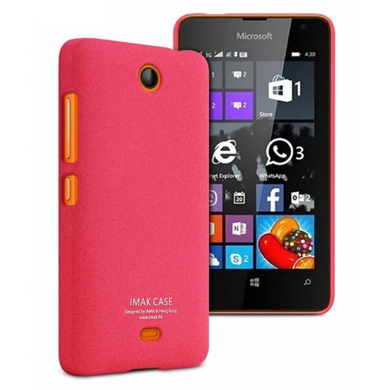 Чохол-накладка Imak для Microsoft (Nokia) Lumia 430 Cowboy ser. Червоний(842754)