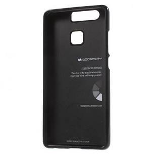 Чехол накладка Mercury для Huawei P9 Jelly Color ser. черный, фото 2