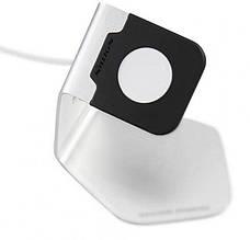 Док-станція Nillkin для Apple iWatch C.Stand ser. Сріблястий/чорний, фото 3