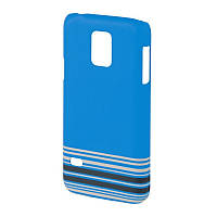 Чохол-накладка Hama для Samsung G800H S5 mini Primrose ser. Блакитний