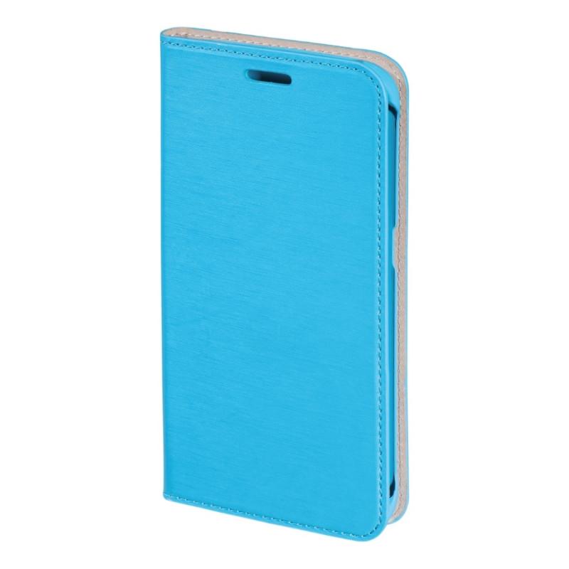 Чохол-книжка Hama для Samsung G925F S6 Edge Slim ser. Блакитний