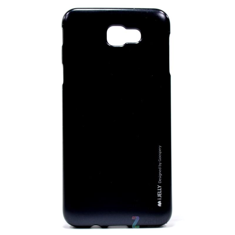 Чохол-накладка Mercury для Samsung G570F J5 Prime(2016) iJelly Metal ser. TPU Чорний