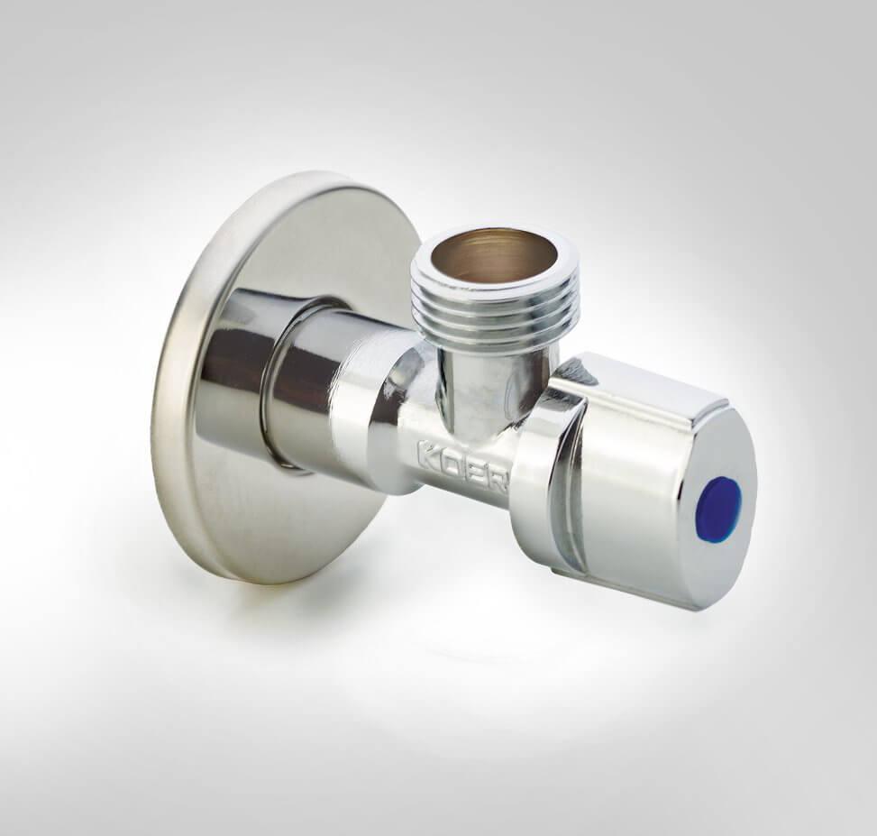 Хромированный вентиль 3/4х1/2 Koer KR.511