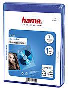 Футляр Hama для дисков DVD-CD / 3в1 / Синий