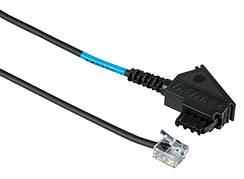 DSL кабель Hama Штекер TAE-N - модульный разъем 6p2c 600 см Черный