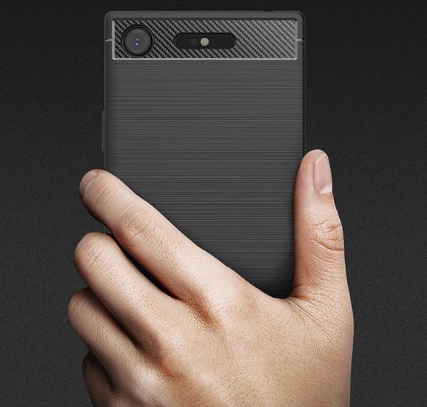 Защитный чехол-накладка для Sony Xperia XZ Premium (G8142)