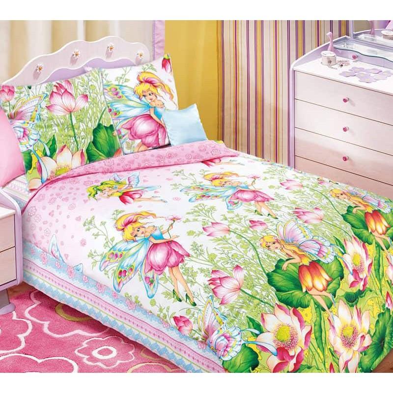 Постельное белье Волшебный мир бязь ТМ Царский дом в кроватку