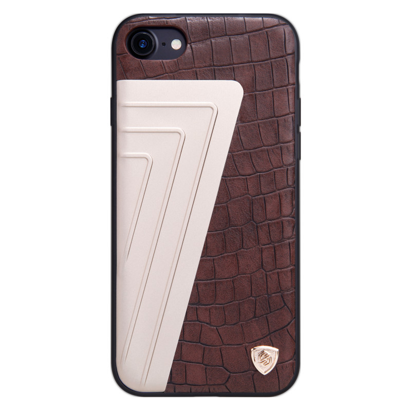 """Чохол-накладка Nillkin для iPhone 7 (4.7"""") Hybrid ser. Коричневий(129542)"""