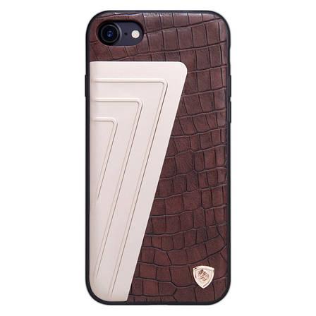 """Чохол-накладка Nillkin для iPhone 7 (4.7"""") Hybrid ser. Коричневий(129542), фото 2"""