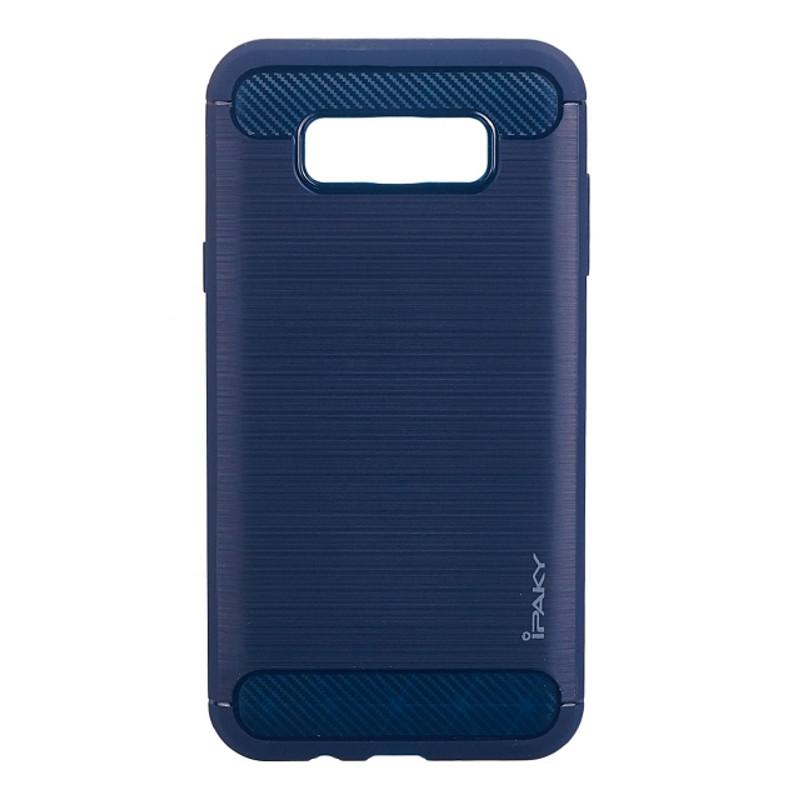 Чехол накладка iPaky для Samsung J710F J7 (2016) Slim ser. синий