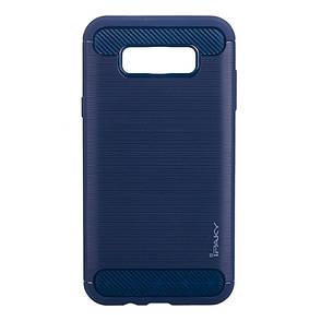 Чехол накладка iPaky для Samsung J710F J7 (2016) Slim ser. синий, фото 2