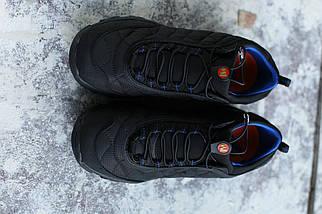 Мужские кроссовки в стиле Merrell чёрно-синие  (реплика), фото 2