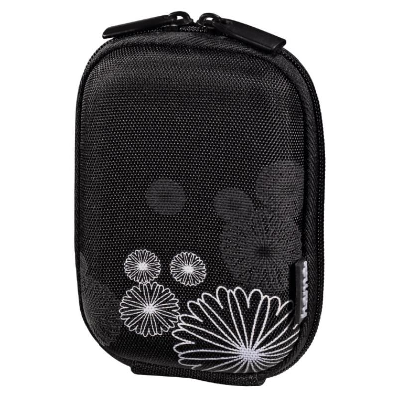 Чехол-футляр Hama для фотоаппаратов (60x25x97мм) Flower ser.черный