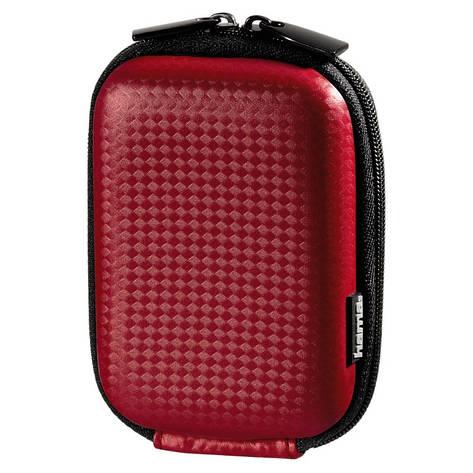 Чохол-футляр Hama для Фотоапарата (60x25x95мм) Carbon Style ser. Червоний, фото 2
