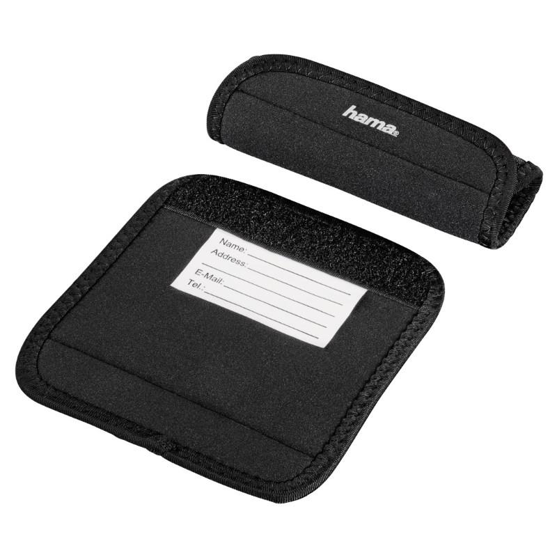 Чохли Hama для ручок багажа/ Luggage Handle Wrap/ Чорний