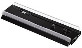 Тримач Hama 00115442 для Sony Playstation 4 USB Hub LED підсвітка Stand ser. Чорний