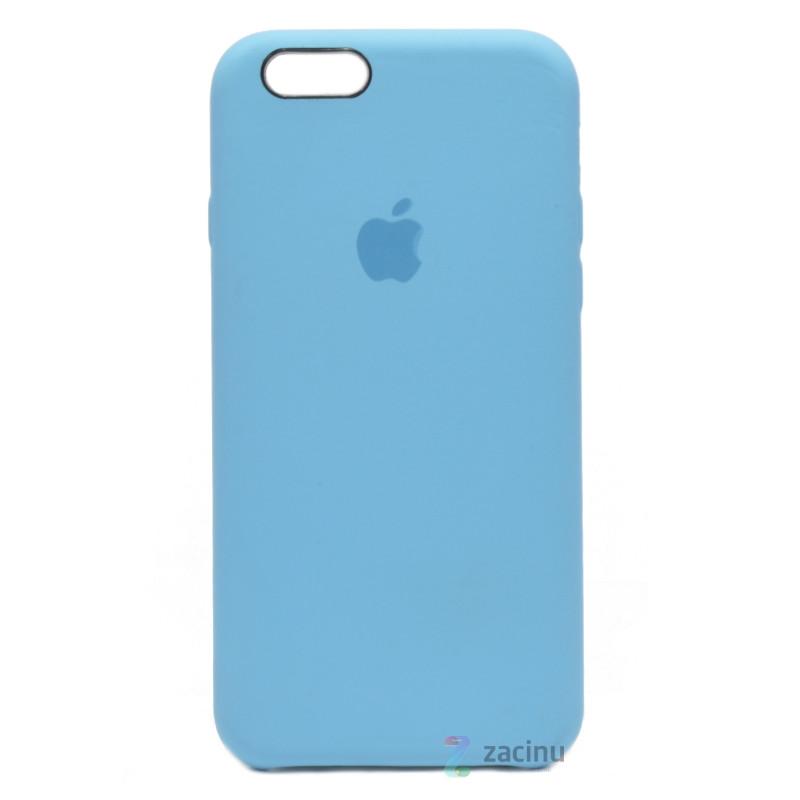 Чохол-накладка для iPhone 6/6S Leather case Копія(2) Блакитний