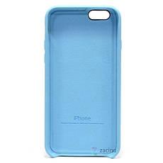Чохол-накладка для iPhone 6/6S Leather case Копія(2) Блакитний, фото 3