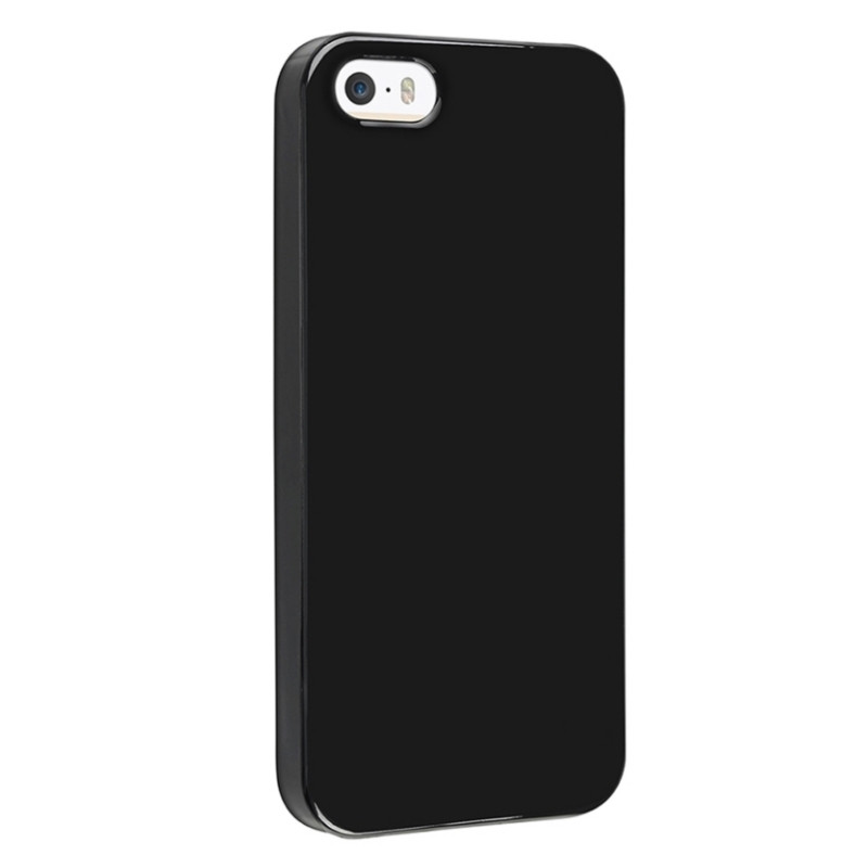 Чохол-накладка Jelly для iPhone 5/5S/SE TPU Чорний