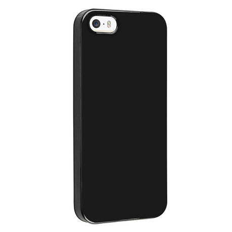 Чохол-накладка Jelly для iPhone 5/5S/SE TPU Чорний, фото 2