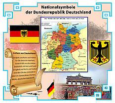Национальные символы Германии. Стенд для кабинета немецкого языка