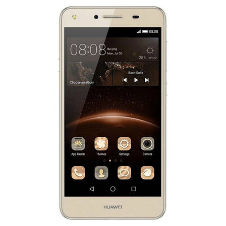 Смартфон HUAWEI Y5II Dual Sim (золотистий), фото 2