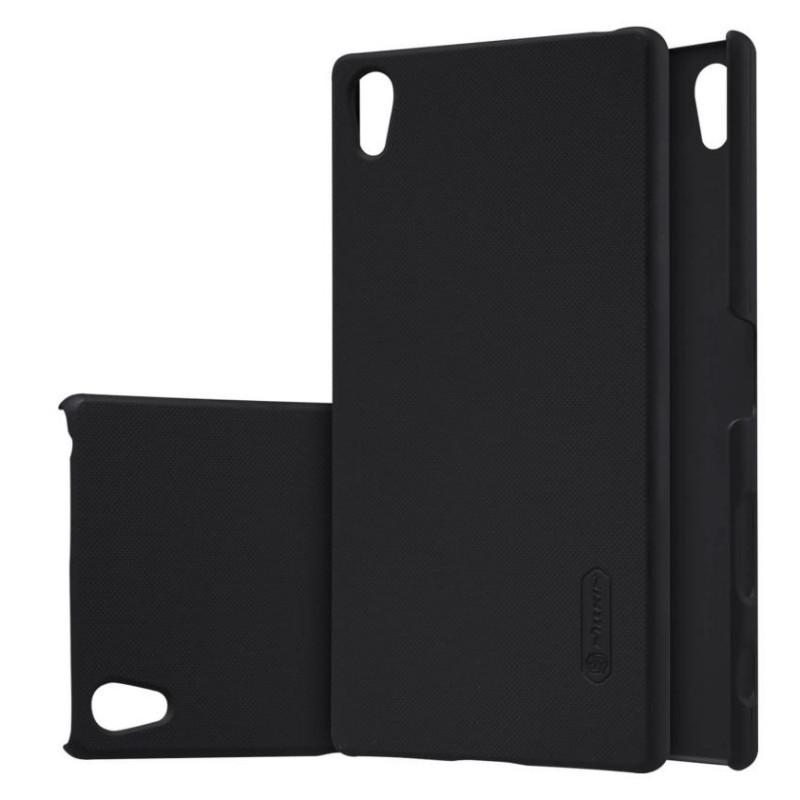 Чохол-накладка Nillkin для Sony Xperia Z5 Premium Matte ser. + плівка Чорний