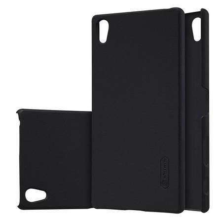 Чохол-накладка Nillkin для Sony Xperia Z5 Premium Matte ser. + плівка Чорний, фото 2