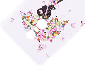 Чохол-накладка для Xiaomi Redmi Note 4X Cute Print ser. Umbrella Прозорий/безколірний, фото 3