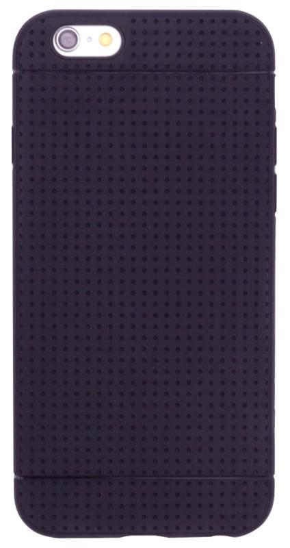 "Чохол-накладка TPU для iPhone 6/6S (4.7"") KMC Чорний(342222)"