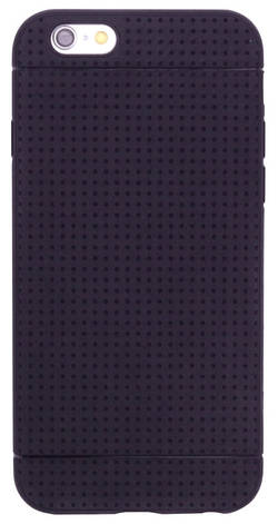 "Чохол-накладка TPU для iPhone 6/6S (4.7"") KMC Чорний(342222), фото 2"