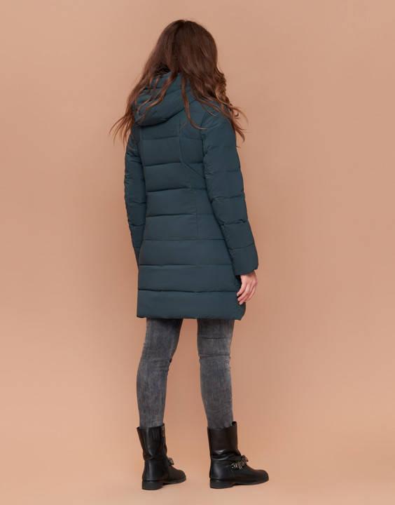 Зимняя женская куртка пуховик, фото 2