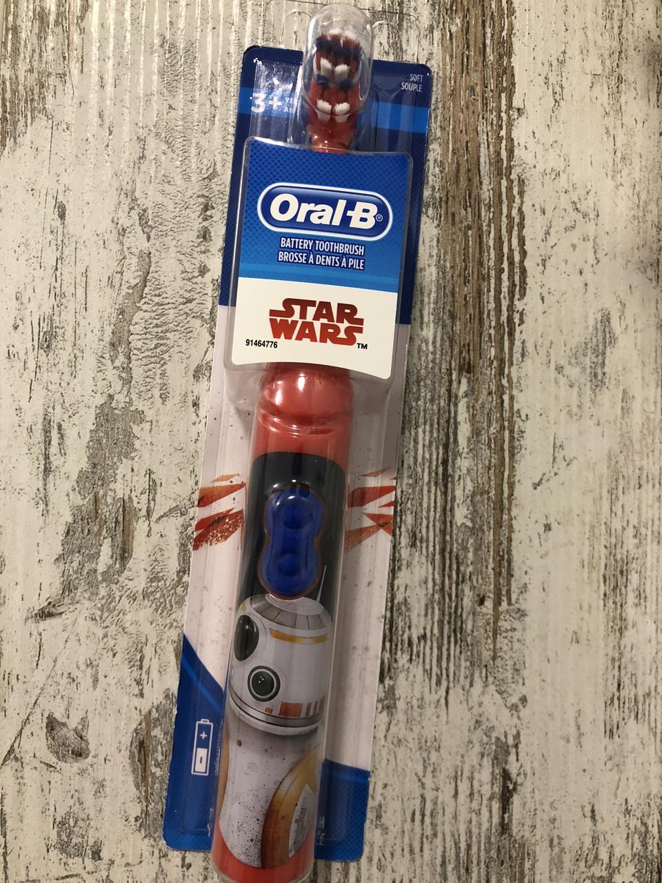 """Детская электрическая зубная щётка Oral-b """"Звездные войны"""""""