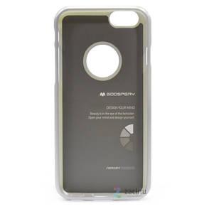 Чехол накладка Mercury для iPhone 6 / 6S iJelly Metal ser. TPU Серебристый (289015), фото 2