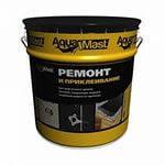 Мастика битумная холодная для ремонта кровель и гидроизоляции AquaMast 20 кг.