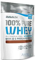 Протеин BioTech USA 100% Pure Whey - 454g шоколад