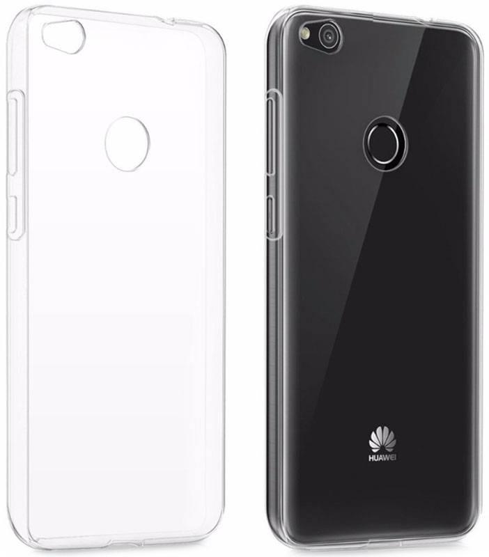 Чехол накладка для Huawei P8 Lite (2017) Ultrathin ser. TPU Прозрачный / бесцветный