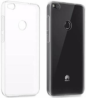 Чехол накладка для Huawei P8 Lite (2017) Ultrathin ser. TPU Прозрачный / бесцветный, фото 2