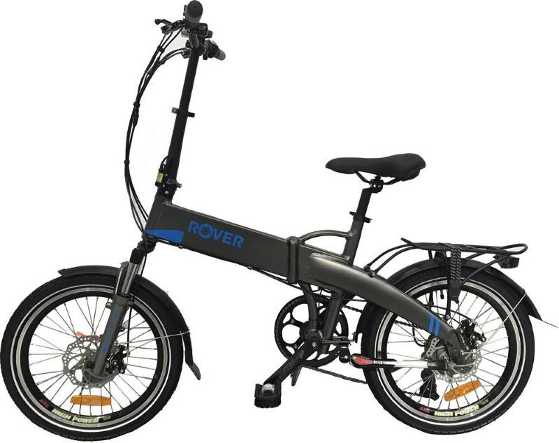 Електровелосипед ROVER Fold Grey-blue