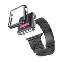 Чохол-накладка Fashion для Apple iWatch 42mm Темно-сірий