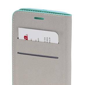 Чохол-книжка Hama для Samsung G920F S6 Duos Primrose ser. Бірюзовий, фото 2