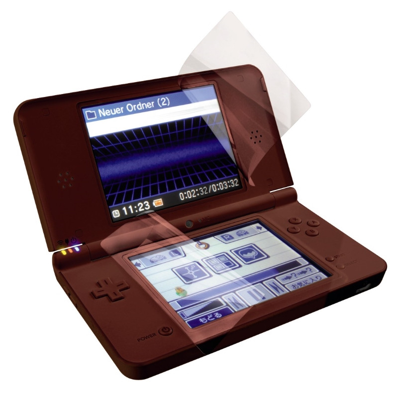 Плівка захисна Hama для Nintendo DSI XL Прозора