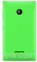 Задняя крышка для Microsoft (Nokia) 435 Lumia Dual Sim, 532 (RM-1069), зеленая