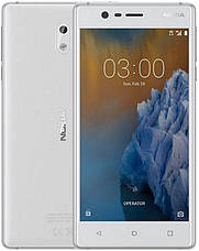 Смартфон NOKIA N3 Dual SIM (сріблясто білий) TA-1032, фото 3