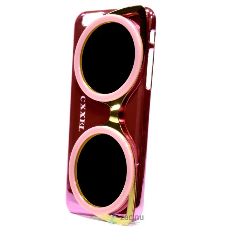 Чехол накладка Cxxel для iPhone 6 / 6S Sunglasses Case ser. Розовый (992407)