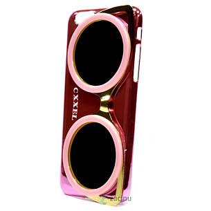 Чехол накладка Cxxel для iPhone 6 / 6S Sunglasses Case ser. Розовый (992407), фото 2