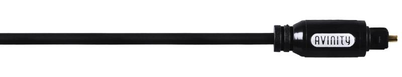 Оптический аудио кабель Avinity Toslink 300см Черный