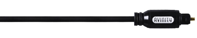 Оптичний аудіо кабель Avinity Toslink 150см Чорний