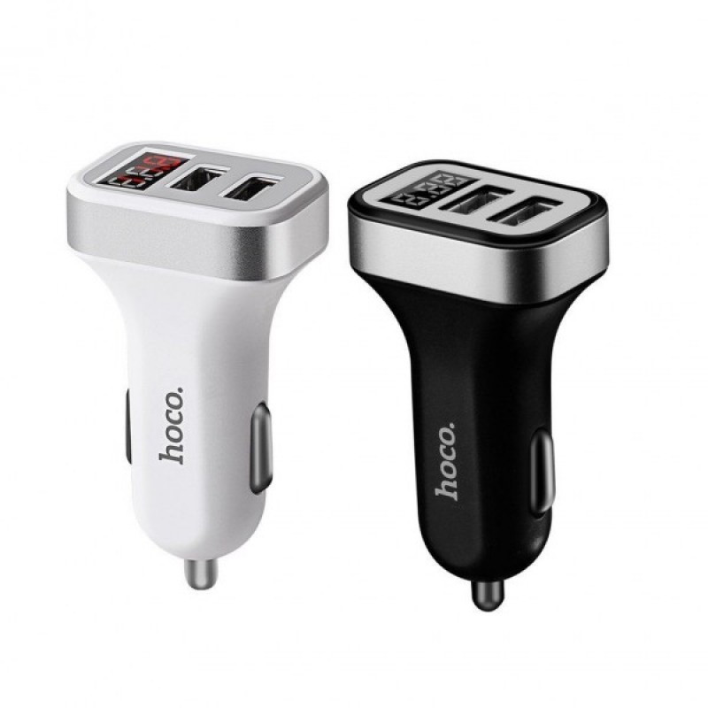 АЗУ Hoco Z3 Fast Charger (2USB, 3.1А) \ white
