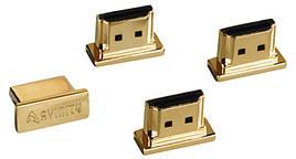 Заглушка Avinity/ HDMI/ 4в1/ Золотистий